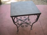 C-Curl Slate Table - 1 of Pair
