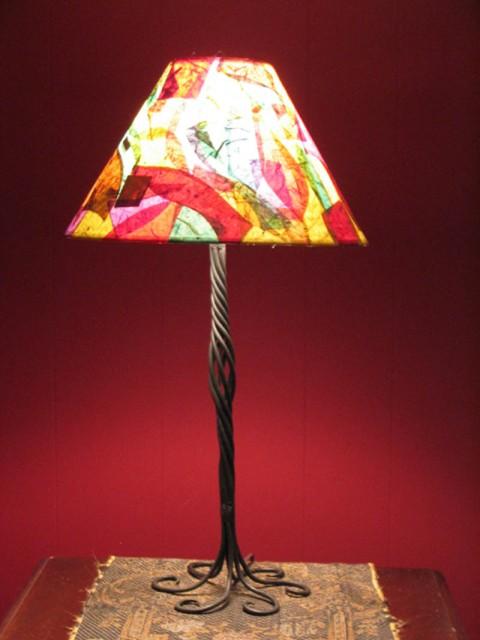 Tree Lamp with Beldan's Shade