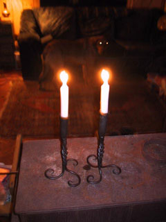Twisted Candle Flutes