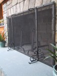 5ft x 3ft Screen side view