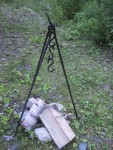 Camp Set (Manual Rotary Spit Set Up)