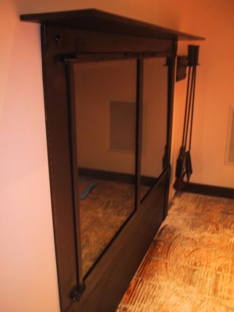 Side View Glass Doors &  Tool Set