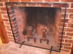 Traditional Fire Screen