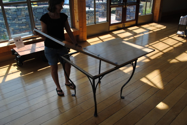 Step 1 to close table