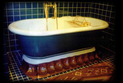 Metal Bath Tub Skirt