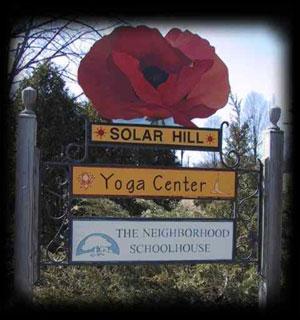 Solar Hill Sign