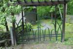 Saxtons River Garden Gate
