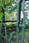 Gate latch detail
