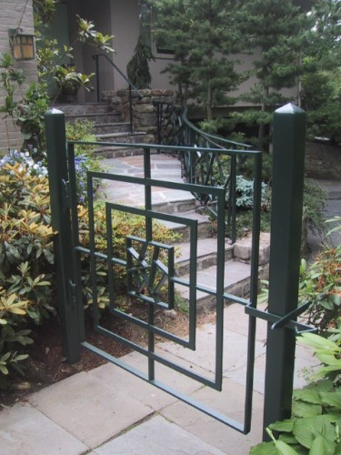 Ice Ray Gate and Railing