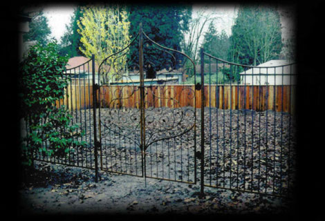Persian Fence and Gate