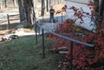 Newfane exterior railing installation