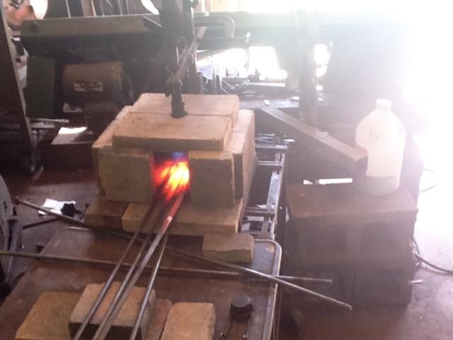 home made propane forge
