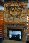 Whetstone Station Fireplace Sign