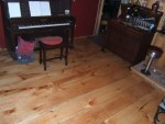 Pine Floor and Piano